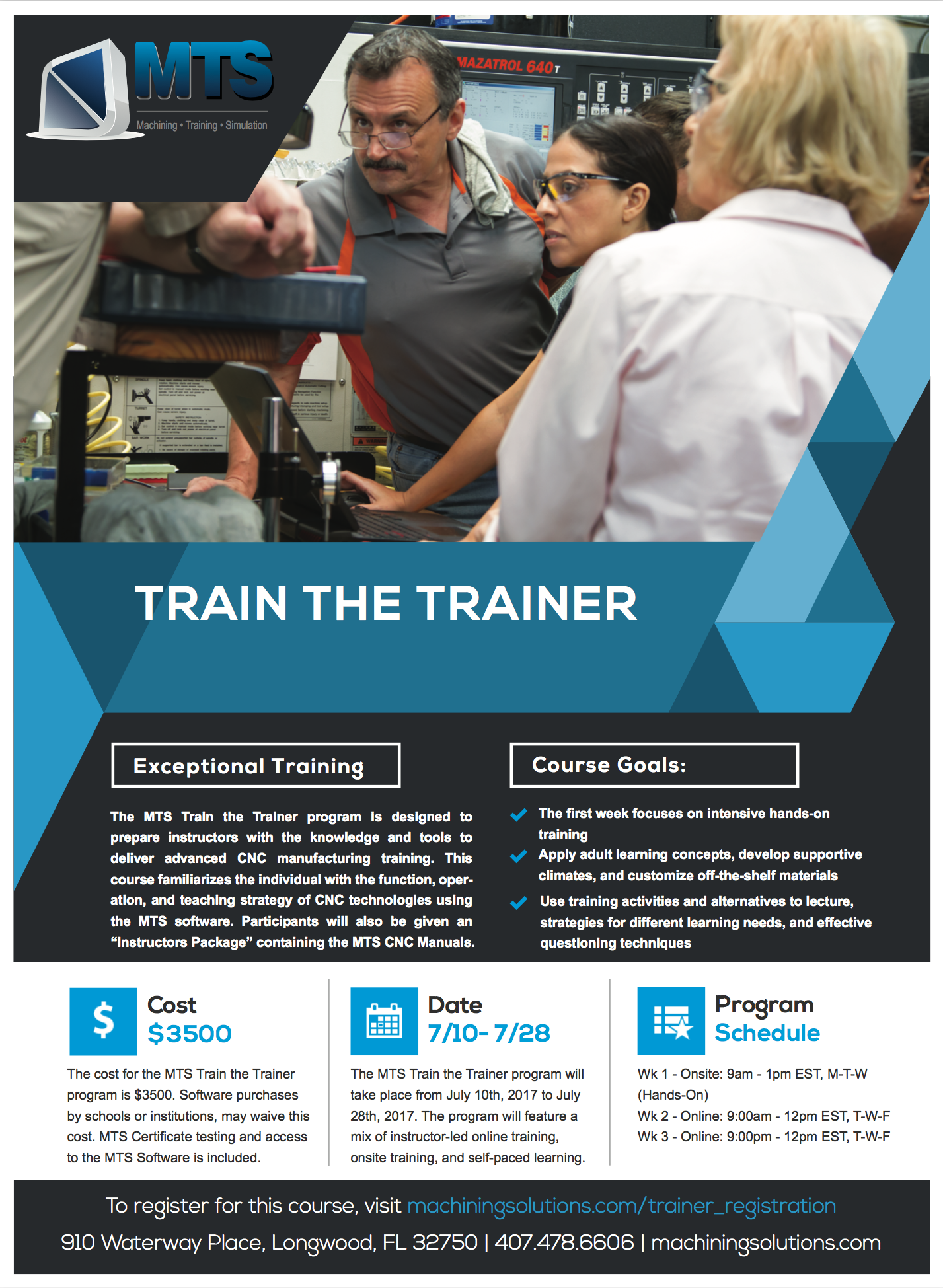 Train the Trainer Flyer